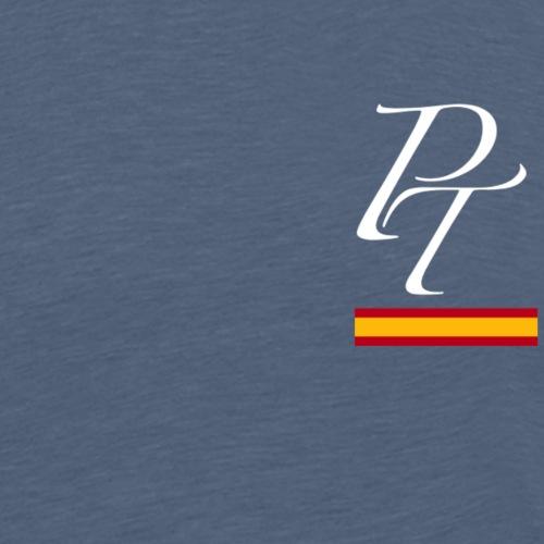 pt derecha blanco españa - Camiseta premium hombre