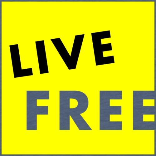Live Free CUBE - Männer Premium T-Shirt
