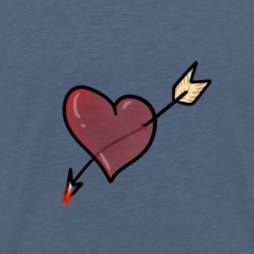 cuore dell'odio - Maglietta Premium da uomo