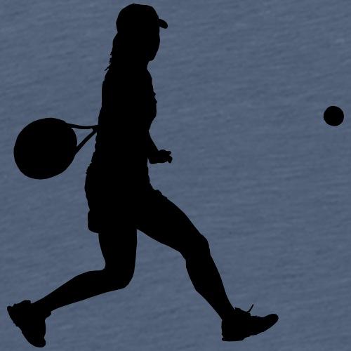 tennis woman 2 - T-shirt Premium Homme