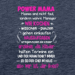 POWER MAMA - Männer Premium T-Shirt