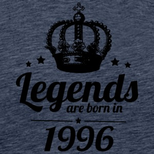 Legends 1996 - Herre premium T-shirt