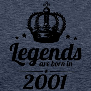 Legends 2001 - Men's Premium T-Shirt