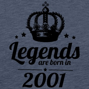 Legends 2001 - Premium-T-shirt herr