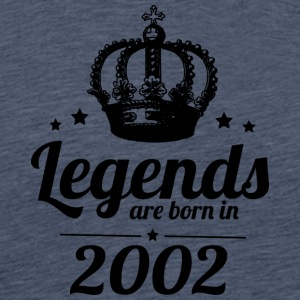 Legends 2002 - Herre premium T-shirt