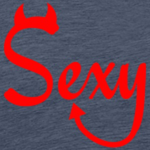 SEXY BUT POWERFUL RED - Men's Premium T-Shirt