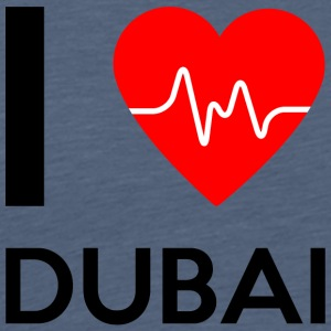 I Love Dubai - I Love Dubai - Men's Premium T-Shirt