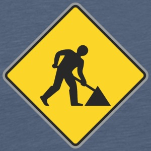 Road Sign Way réparation - T-shirt Premium Homme