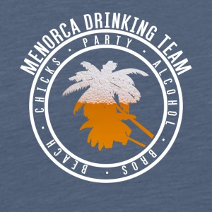 Shirt party holiday - Menorca - Men's Premium T-Shirt
