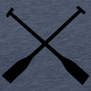 Paddle for all Paddebloot & rowers Fans - Men's Premium T-Shirt