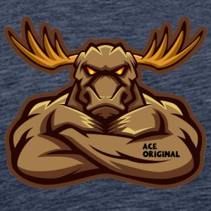 Ace Original Moose - Men's Premium T-Shirt