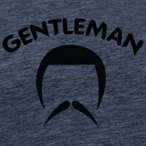 GENTLEMAN 4 black - Men's Premium T-Shirt