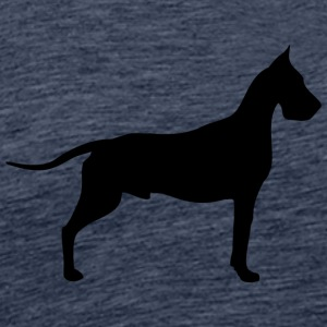 great dane - Premium T-skjorte for menn