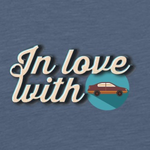 In love with cars - Men's Premium T-Shirt