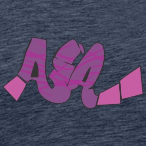 aia graffiti - Men's Premium T-Shirt