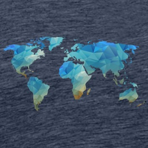 map transparent - Herre premium T-shirt