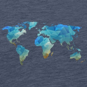 map transparent - Männer Premium T-Shirt