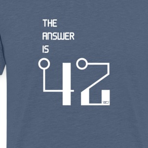 The Answer is 42 - Männer Premium T-Shirt