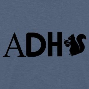 Adhd egern - Herre premium T-shirt