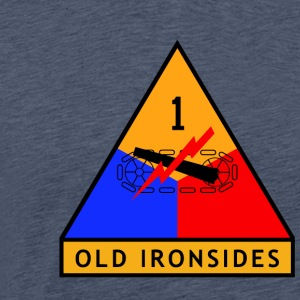 1st_Armored_Division - Men's Premium T-Shirt