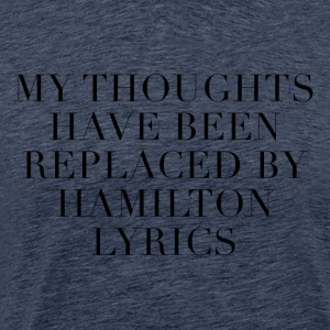 Letra de cancion Hamilton The Musical - Camiseta premium hombre