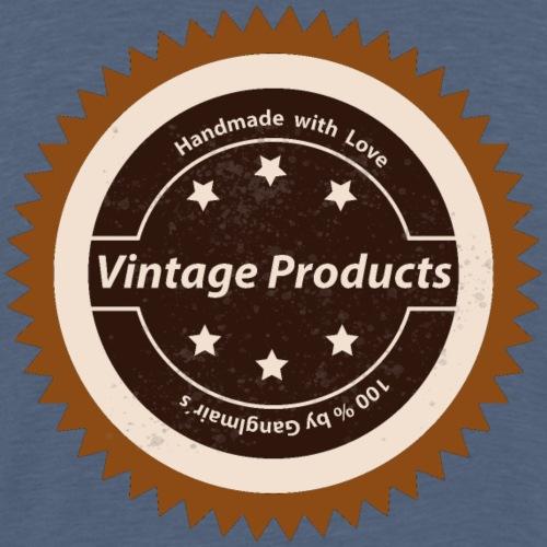 Vintage Logo - Männer Premium T-Shirt