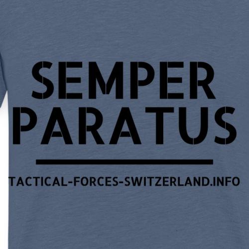 Semper Paratus noir