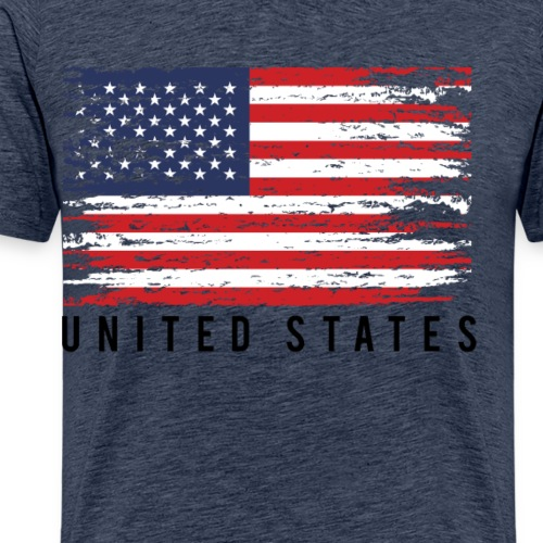 united states 4th july - T-shirt Premium Homme
