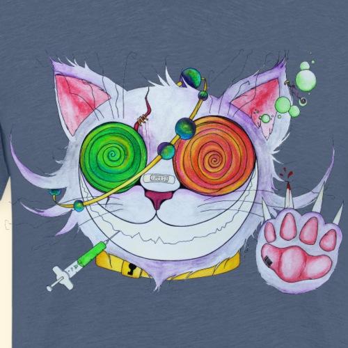 Psychocat - T-shirt Premium Homme