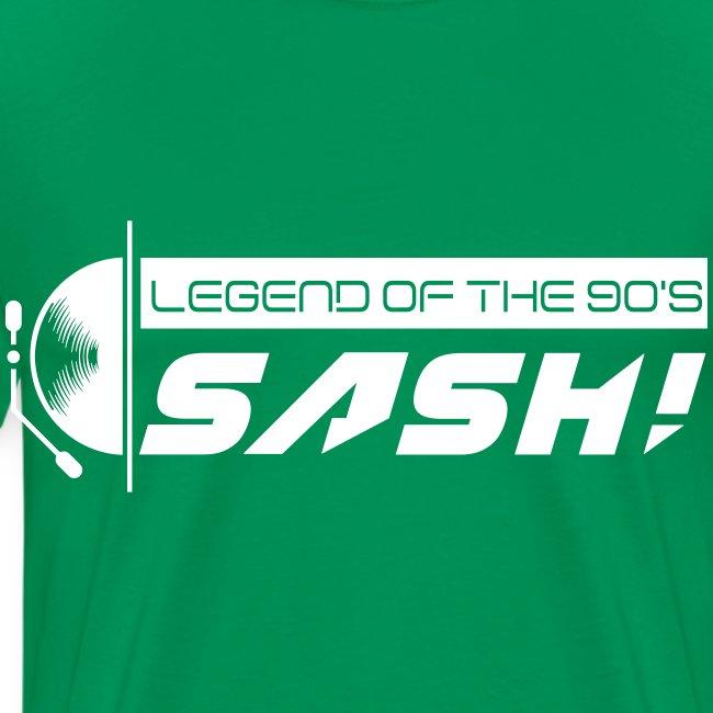DJ SASH! Turntable Logo
