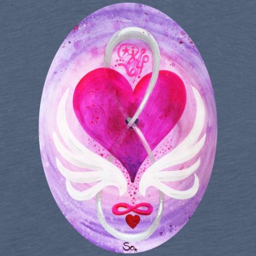 Liebe in Balance - Männer Premium T-Shirt