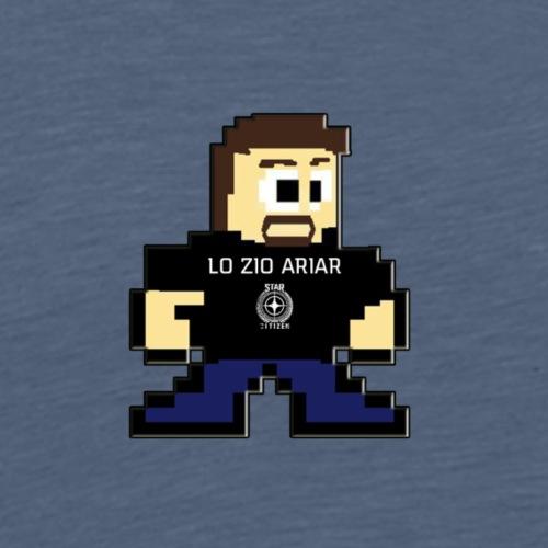 MASCOTTE A 8 BIT LO ZIO ARIAR - Maglietta Premium da uomo