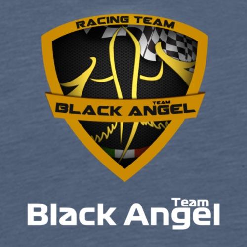 Black Angel Bianco - Maglietta Premium da uomo