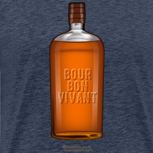 Bourbon Vivant   Whisky T-Shirts - Männer Premium T-Shirt