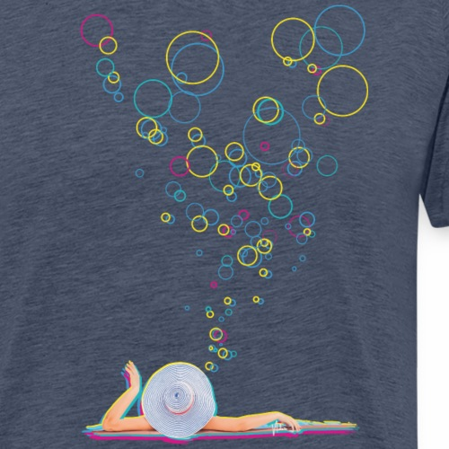 Bubbly Lady - Männer Premium T-Shirt