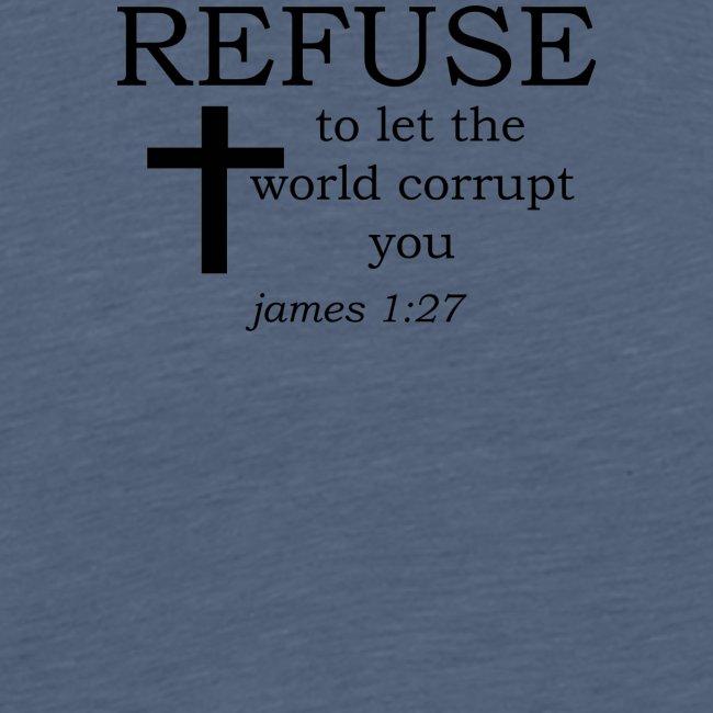 'REFUSE' t-shirt