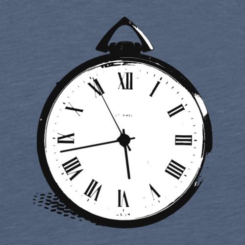 TASCHENUHR_1 - Männer Premium T-Shirt