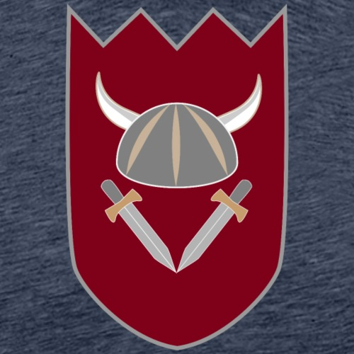 Viikinkivaakuna - Miesten premium t-paita