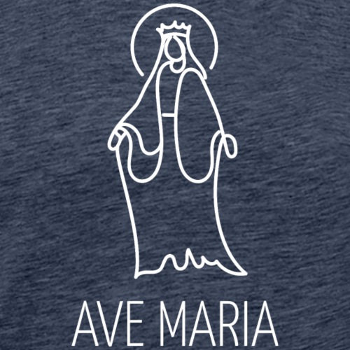 Ave Maria - Maglietta Premium da uomo