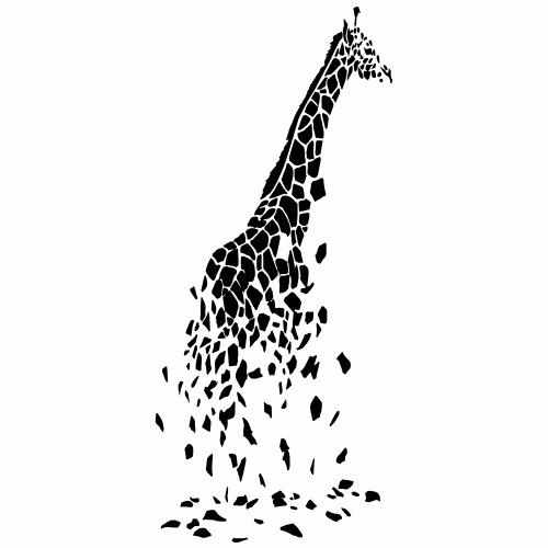 Résumé de girafe - T-shirt Premium Homme