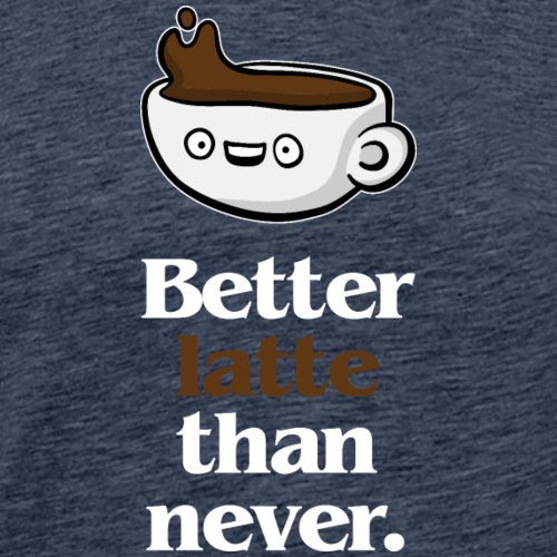 Latte (dark) - Men's Premium T-Shirt