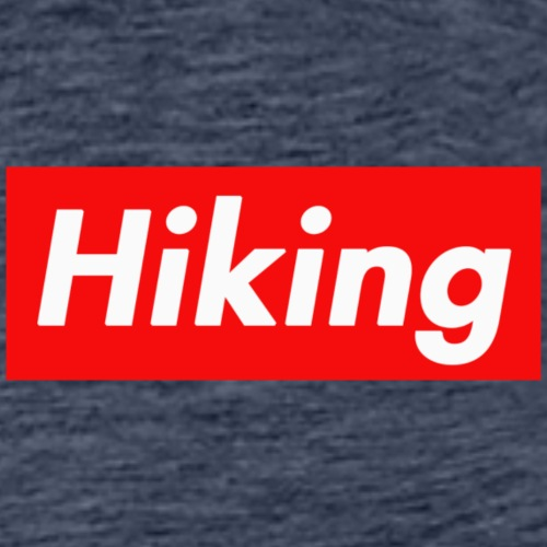 Hiking Wandern Outdoor - Männer Premium T-Shirt