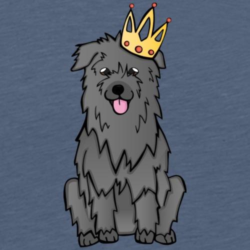 Gray Pyrshep König - Männer Premium T-Shirt