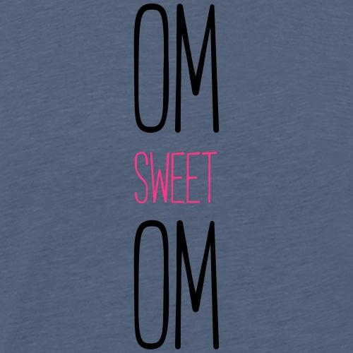 Om_sweet_Om_2farbig - Männer Premium T-Shirt