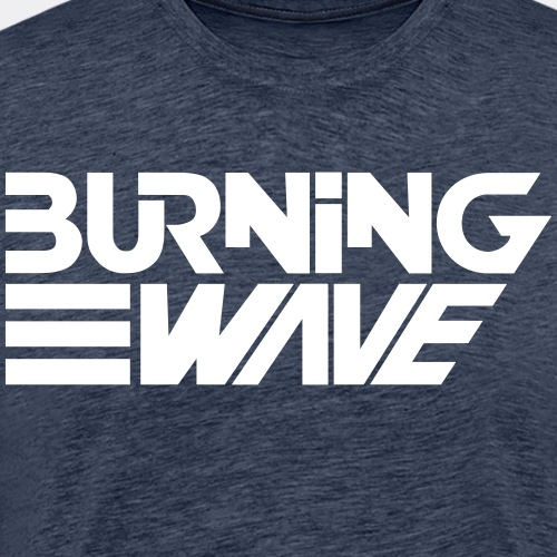 Burning Wave Block - T-shirt Premium Homme
