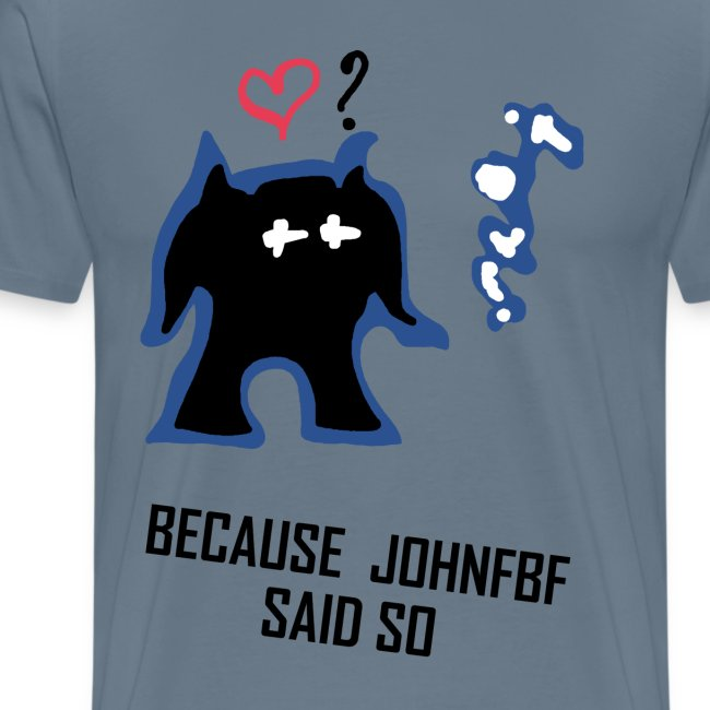 Because JohnFBF BlackText