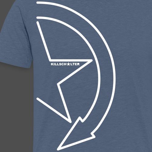 Brand logo 1/2 9KS07WE - Men's Premium T-Shirt