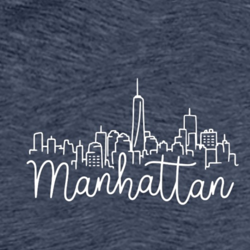 Logo Manhattan - T-shirt Premium Homme