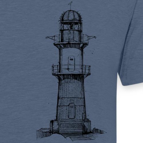 Ostsee Leuchtturm - Männer Premium T-Shirt