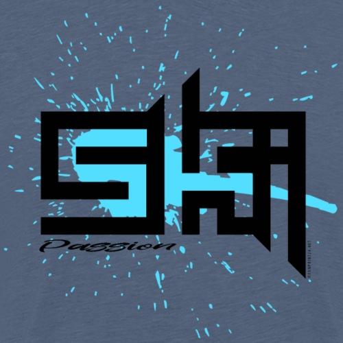 SKI PASSION cool textiles, gifts for everyone - Miesten premium t-paita